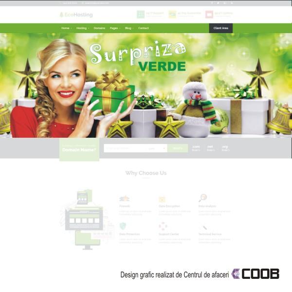 Banner web Surpriza verde