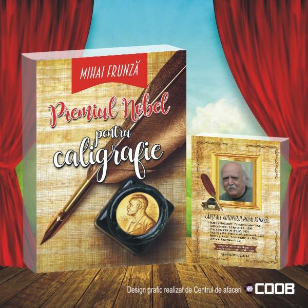 Carte Premiul Nobel pentru caligrafie